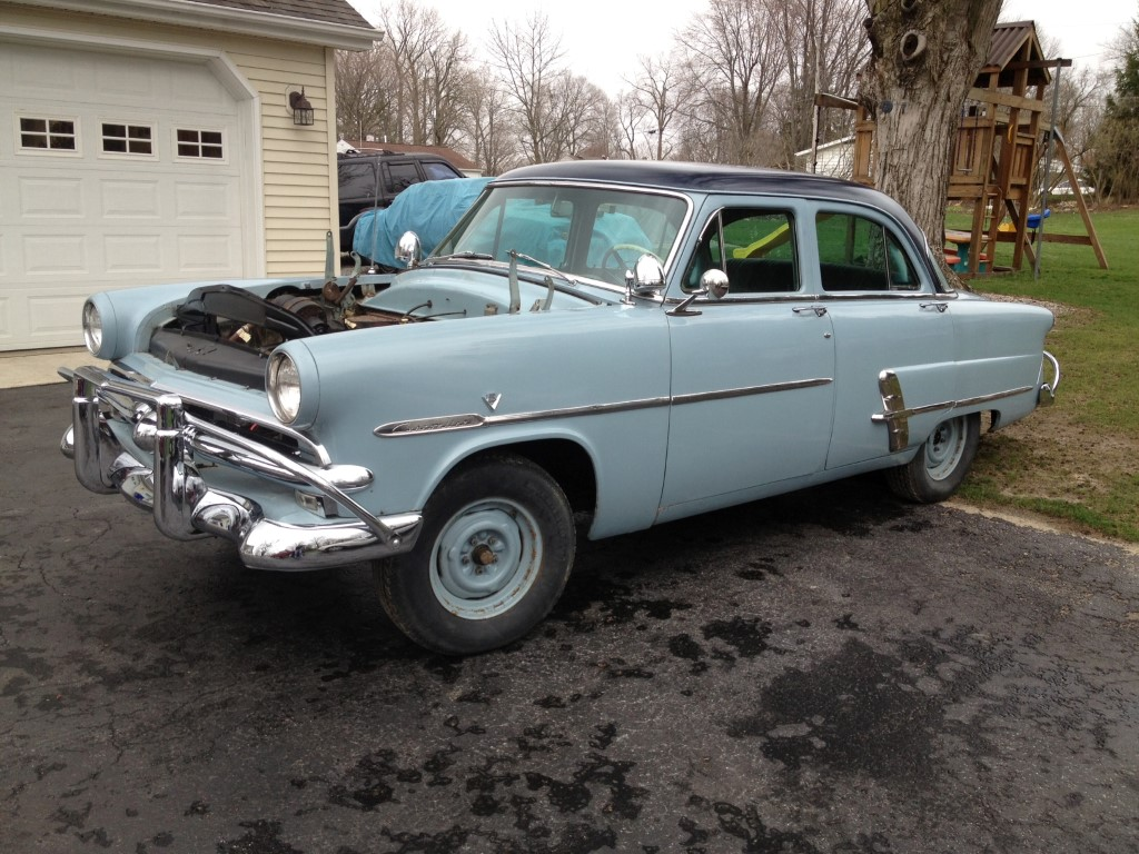 1953 ford customline radiator for 1953 ford customline 4 door