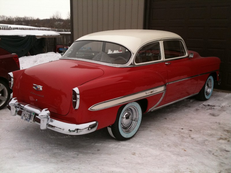 1953 chevrolet bel air 2 door 4 door sedan interiors for 1953 chevrolet belair 4 door