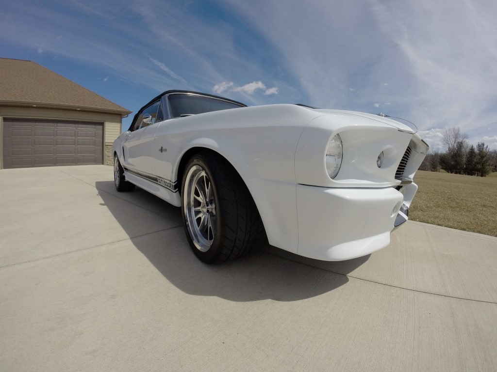 All Types 1995 mustang convertible : 1968 FORD SHELBY MUSTANG CONVERTIBLE ELEANOR — Bair Customs